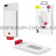 Power Bank 4000 mAh iPhone Baseus ACXNL-BJ02 White/Red