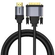 Кабель HDMI(m)-DVI(m) Baseus Enjoyment Dark Gray 1m