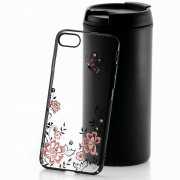 Чехол-накладка Apple iPhone 7 Kingxbar 174 чёрный