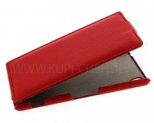 Чехол флип Sony D6603 Xperia Z3 UpCase красный