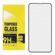 Защитное стекло Apple iPhone X Glass Pro Full Glue 6D чёрное 0.33mm