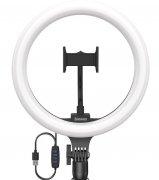 Кольцевая лампа без штатива диаметр 30 см Baseus Live Stream Black