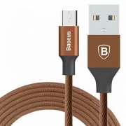 Кабель USB-Micro Baseus Yiven CAMYW-A12 Coffee 1м