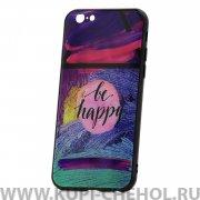 Чехол-накладка Apple iPhone 6/6S Be happy