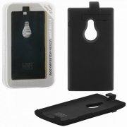 Чехол+АКБ NOKIA 925 Lumia 2800 mAh DF NBattery-01 Black УЦЕНЕН
