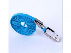 Кабель USB-Micro Remax King Kong Symmetric Blue 1m