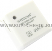 Картридер универсальный SY-380 1503 белый