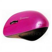 Мышка компьютерная б/п SmartBuy 309AG Pink Black