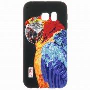 Чехол силиконовый Samsung Galaxy S6 Edge G925 Luxo 43124 фосфор