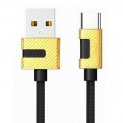 Кабель USB-Type-C Remax RC-089a Black 1m 2.4A