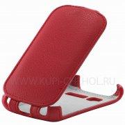 Чехол флип Alcatel One Touch 4015D Armor Case красный