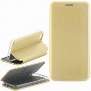 Чехол книжка Apple iPhone 5/5S/SE 9805 золотой