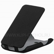 Чехол флип LG D221 Optimus L50 iBox Premium чёрный