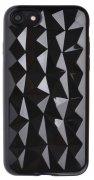 Чехол-накладка Apple iPhone 7 SkinBox Diamond Slim Silicone черный