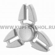 Спиннер металлический вид 2 серебристый