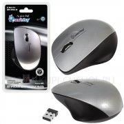 Мышка компьютерная б/п SmartBuy 309AG Silver металлик