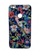 Чехол-накладка Huawei P8 Lite (2017) Luxo Flowers H9 фосфор