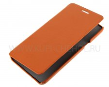Чехол книжка Samsung A700F Galaxy A7 UpCase оранжевый