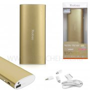 Power Bank 13000 mAh Yoobao YB-6016 бронзовое