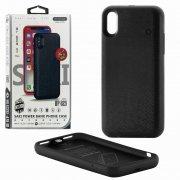 Чехол+АКБ iPhone X 3600 mAh WK WP-029 Black