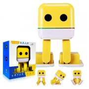 Колонка Bluetooth Dancing robot Yellow