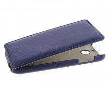Чехол  откид  HTC Des 510 Dual  UpCase  син
