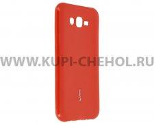 Чехол-накладка Samsung Galaxy J7 Neo Cherry красный