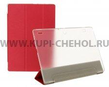 Чехол откидной Lenovo Tab 2 10.1 A10-30 Trans Cover красный
