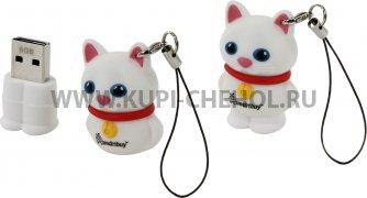 ФЛЕШ SmartBuy Wild 8GB Catty White