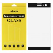 Защитное стекло Sony Xperia XA2 Aiwo Full Screen черное 0.33mm