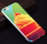 Чехол-накладка Apple iPhone 6/6S Blue Shine 10437
