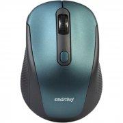 Мышка компьютерная б/п SmartBuy 357AG-B Blue