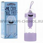 Стеклянная бутылка WK Mr.Cute Big WT-CUP06 Purple
