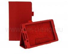 Чехол  Sony  Xperia  Tablet Z3 Mini  к/з  красн флот