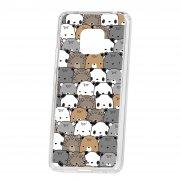 Чехол-накладка Huawei Mate 20 Pro Kruche Print Медвежата