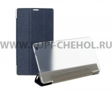 Чехол откидной Lenovo Tab 2 A7-30 Trans Cover синий