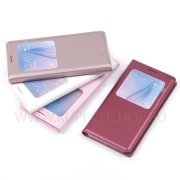 Чехол книжка Samsung G920 Galaxy S6 Flip Cover 6572-1 белый