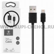 USB Apple iPhone 5 Baseus CALUN-01 Black 1м
