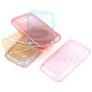 Чехол силиконовый Samsung Galaxy Ace 4 Lite G313h 8291 красный
