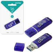 Флеш Smartbuy Glossy 16Gb Dark Blue USB 3.0