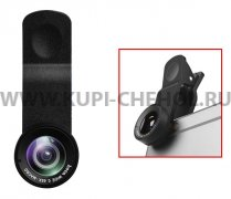 Объектив Hoco PH6 Owl wide-angle macro lens Black