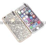 Защитная плёнка Apple iPhone 6 / 6S 4.7 2в1 3D 9466 серебристая