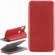 Чехол книжка Xiaomi Redmi Note 5 Pro Book Case New 3D красный
