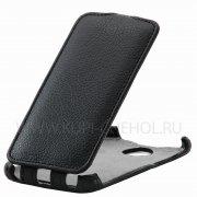 Чехол флип HTC Desire 501 Dual Sim Derbi чёрный