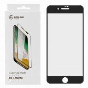 Защитное стекло Apple iPhone 7 Red Line Full Glue чёрное матовое 0.33mm