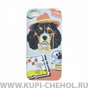 Чехол-накладка iPhone 5/5S Cocker spaniel