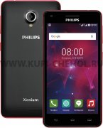 Телефон Philips Xenium V377 Black/Red