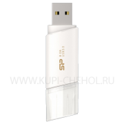 ФЛЕШ SILICON B06 8GB White