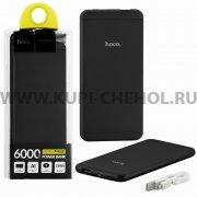 Power Bank 6000 mAh Hoco UPB03 Black.