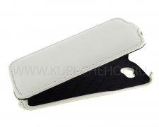 Чехол флип Lenovo A820 Kenzi белый